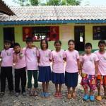 Pink Day at the Burmese Learning Center in Kuraburi