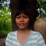 Kaow Nieow - moken student following our scholarship program for underprivileged education
